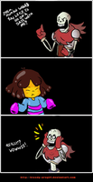 Papyrus's date comic by Bloody-Uragiri
