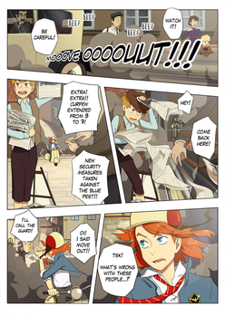 Awaken comic page 1 OLD by Flipfloppery