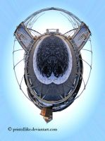 Mini-planet - Inverness bridge by printsILike