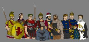The Nine Worthies by SEELE-02
