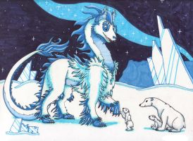 Guardian Of Ice by Creative-Dreamr