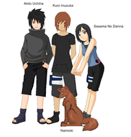 Team 13- My ocs by GothicXPrincess99
