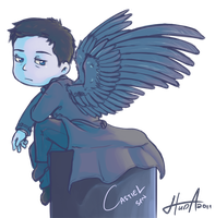 SPN - Castiel by msloveless