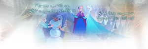 Frozen Banner by onika1996