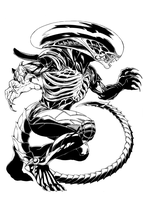 ALIEN inks by TimRees