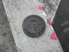 Permant Survey Mark 139218 by Zomit