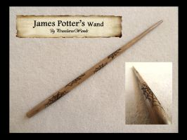 James Potter's Wand by PraeclarusWands