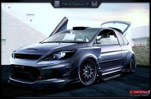 Ford Focus ST WTB'08 by stjoseph1903