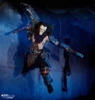 Darksiders 2 - Death Cosplay 4 by MEG-Cosplay