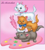 Aristocats by Laurine-Tellier