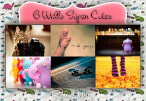 Seis Walls Super Cutes bY StiloJuliii by StiloJuliii