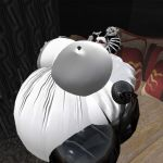 Inflated mistress by dominique1981