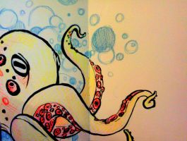 Octo-bubble by my-ain-sel