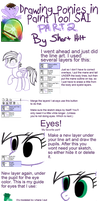 Ponies in Paint Tool SAI - Part 2 by x-Short-Hilt-x