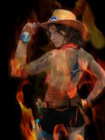 Fem!Ace cosplay by PinkLemon91