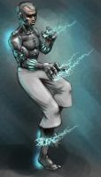 Cyborg of a lightning 2 by IS86
