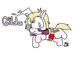 Gilda XL: Pony edition by Benjamillion