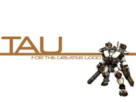Tau Wallpaper by chaotea