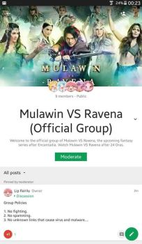 Mulawin VS Ravena Official Group in Google by stick-the-badger