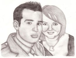 Andy + Ellie (A Birthday Present) by IchBinJayne
