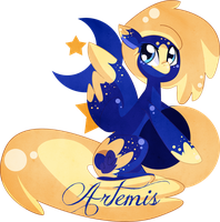 OC MLP: Artemis by Sellyinwonderland