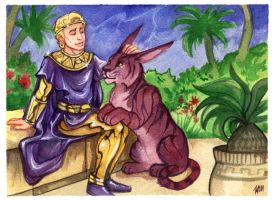 Ozymandias and Bubastis by Luthie13