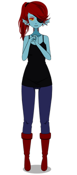 Undertale (Undyne) by LilyKai12