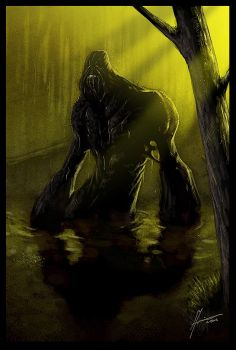 swamp thing by blackpoint