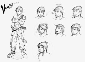 recherches personnage 3 by typhon-humanoid