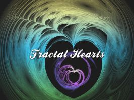Fractal Hearts by xara24