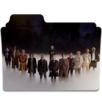 Doctor Who 50th anniversary 12 doctors folder icon by LeaBeaudoin