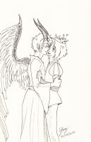 Prucan vs Maleficent - Peaceful love by x-Lilou-chan-x