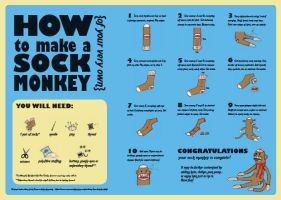 How to Make a Sock Monkey by quicklikeafox