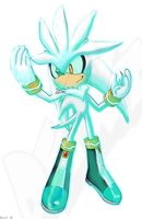 Silver the Hedgehog by Dext
