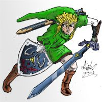 Link from Twilight Princess by nikgt