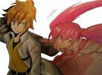 Tatsumi and Mine by MikeES