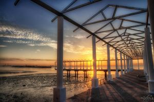 Sunrise of Nautilus Bay, Penang by fighteden