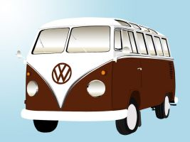 VW Bus by Pineapple87