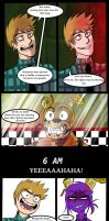Mike plays Fnaf3 by Nomi-Lewa