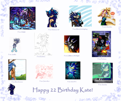 Happy Birthday Kate by xWraithxfan-club