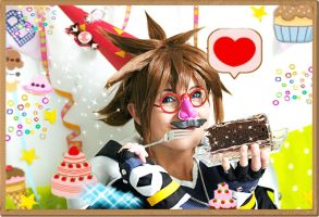 KH - Tea Party!!!!! by Evil-Uke-Sora