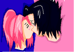 SasuSaku Head And Neck by kyuubifan8897