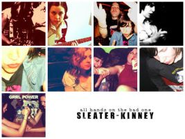 Sleater-Kinney Icons by musicXmedicine
