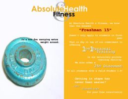 Absolute Health and Fitness Ad by iamthesean