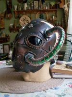 Steampunk Gas Mask by JoannaCorrinCoutures