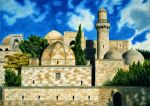 Palace of the Shirvanshahs by Rustamova