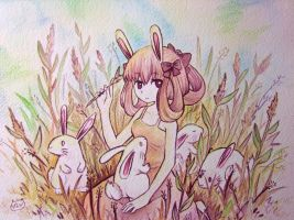 The Bunny Queen 3 by scilk