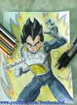 [187] Vegeta by BeaRockOut