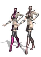 Two Skarlet Models with DL Link by anorexianevrosa