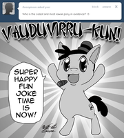 Ask Vaudeville 14 by FractiousLemon